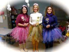 Elementary teachers dress up to enhance student engagement.