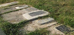 گورهای جمعي شهیدان قتل عام 67 - در گورستان آقاسيدمرتضي در شهر لاهيجان
