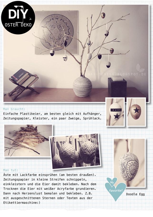 Ynas Osterdeko, Vintage Ostern