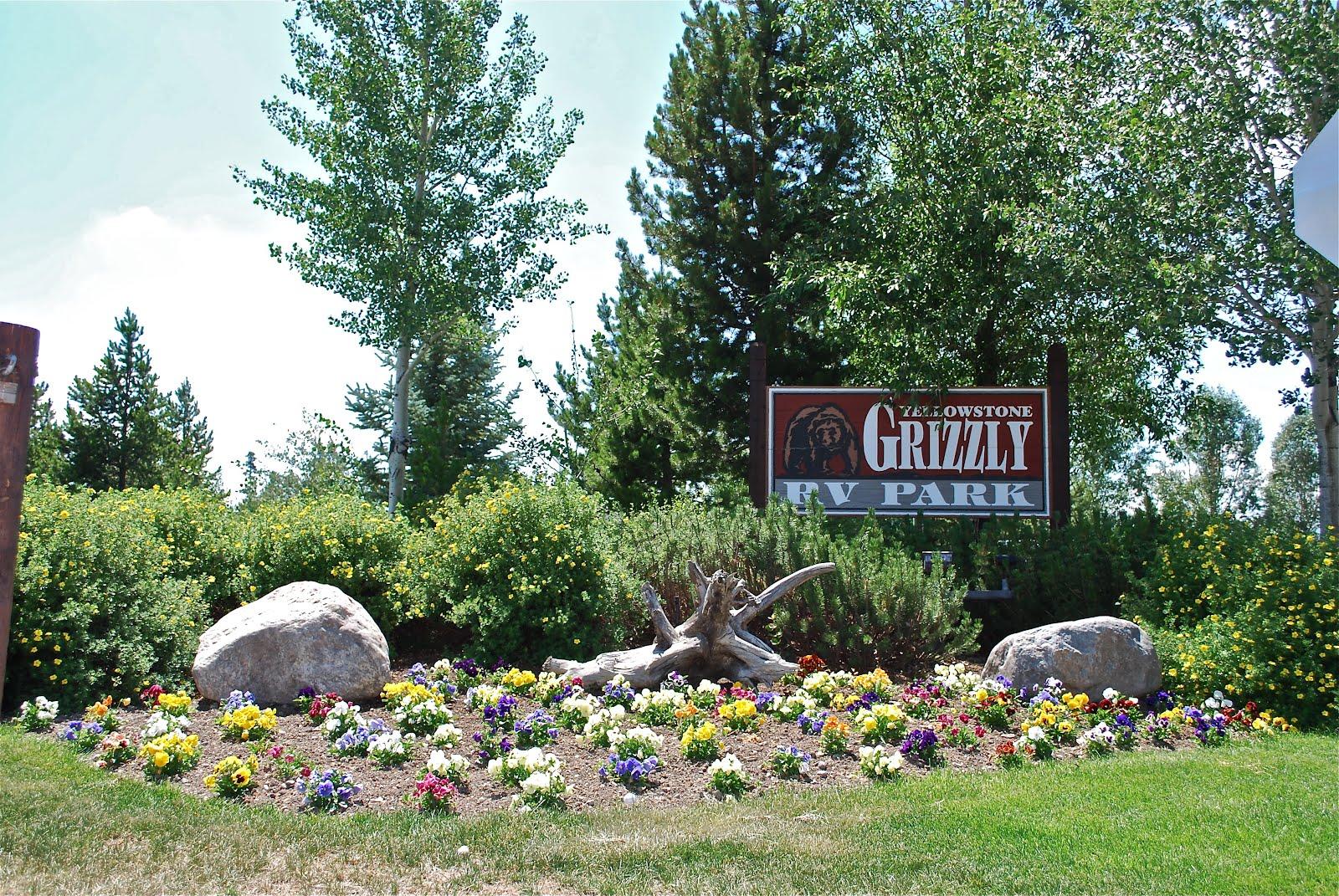 Blue Sky Ahead Yellowstone Grizzly Rv Park