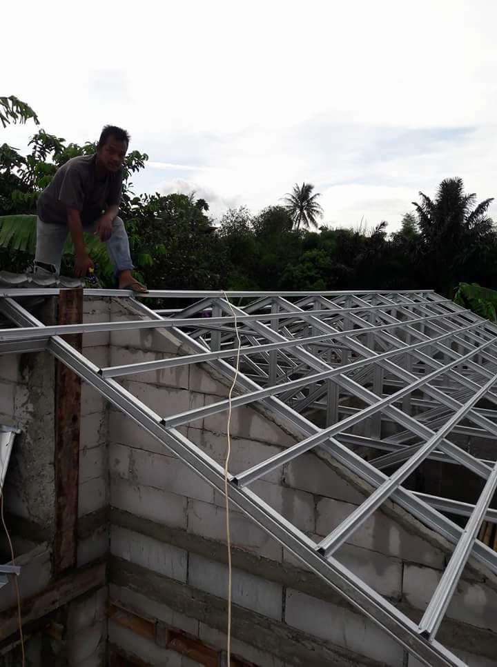 Atap Baja Ringan Ciledug Tukang Kanopi Tangerang Serpong Bsd Pamulang
