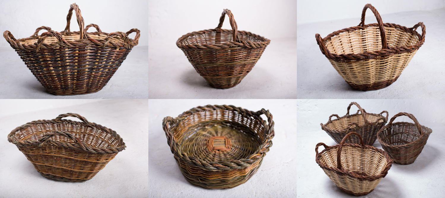Traditional Basket Making : Weaving by the sea