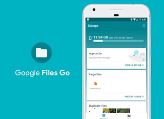 Files Go App upgraded to removal of Duplicate Files and Search faster