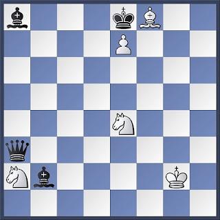 Proceso de composición de problemas de ajedrez, diagrama 3