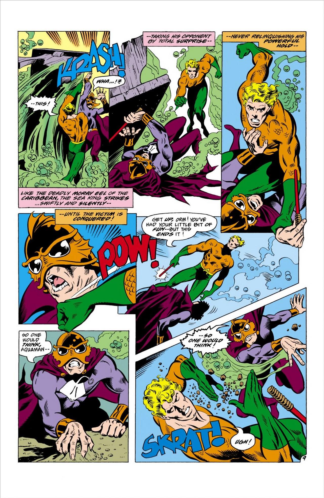 Read online Aquaman (1962) comic -  Issue #63 - 10