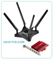 Direct Download ASUS PCE-AC88 AC3100 PCI Express Wireless DRIVER for