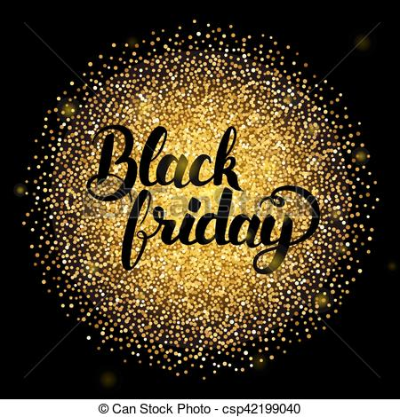 Black Friday Glitter - Can Stock Photo csp42199040
