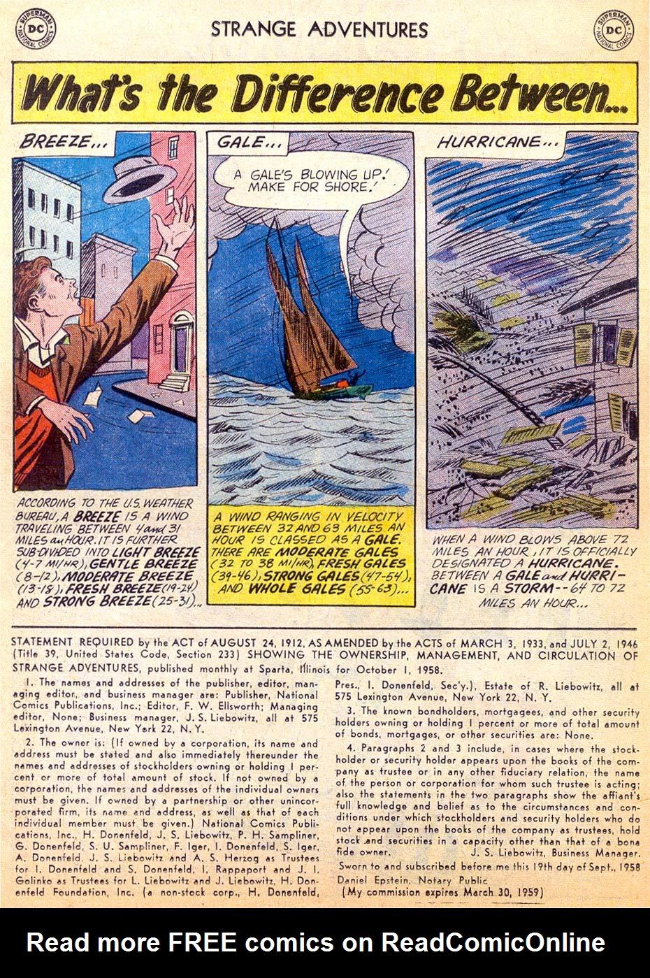 Strange Adventures (1950) issue 101 - Page 14