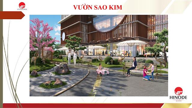 Vườn sao Kim tại dự án Hinode City