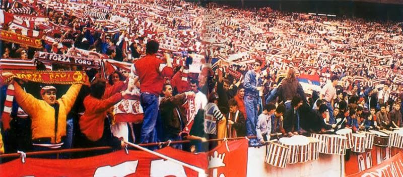 Red Star-Dynamo Dresden 1991 Ultras Photo reportage - Ultras