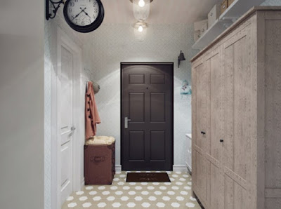 Two Bedroom Apartment Project Design Ideas Hallway