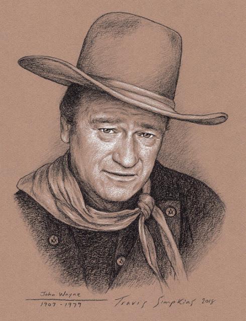 John Wayne. American Actor, Filmmaker and Freemason. by Travis Simpkins