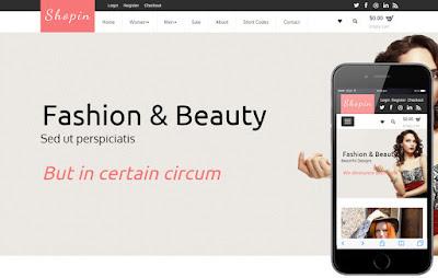 19+ Referensi Design Template Toko Online dan Admin Terkemuka