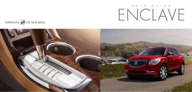 Downloadable 2017 Buick Enclave Brochure
