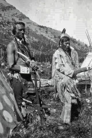 Native American Indian Pictures Blackfeet Indian Couples