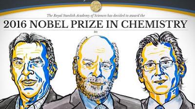 Premio Nobel Química 2016