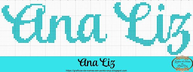 Nome Ana Liz em Ponto Cruz