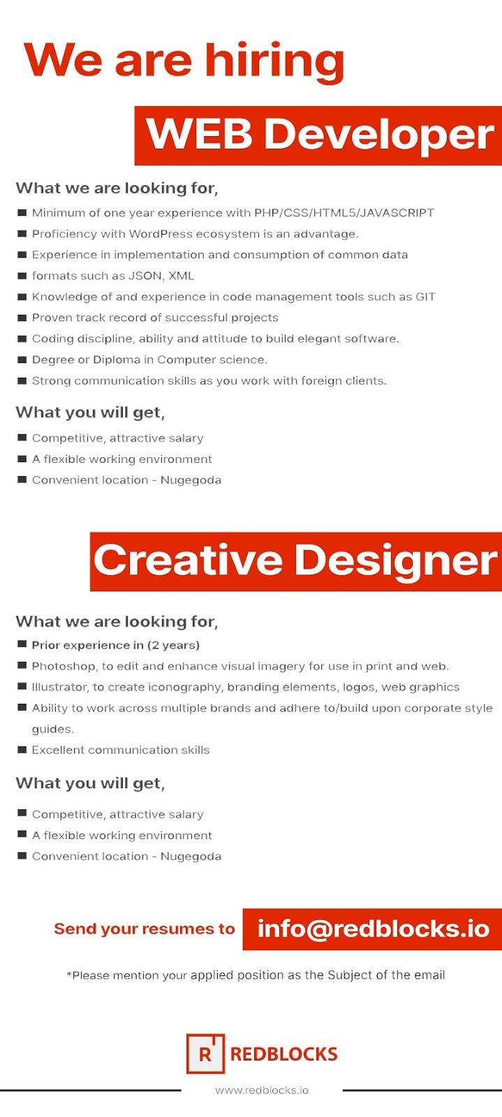 Creative Designer Jobspot