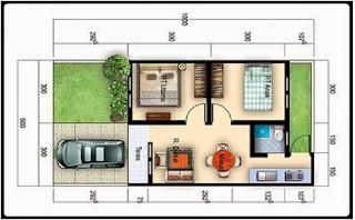 Desain Rumah Minimalis Type 36 Yang Pas Untuk Berbagai Kondisi