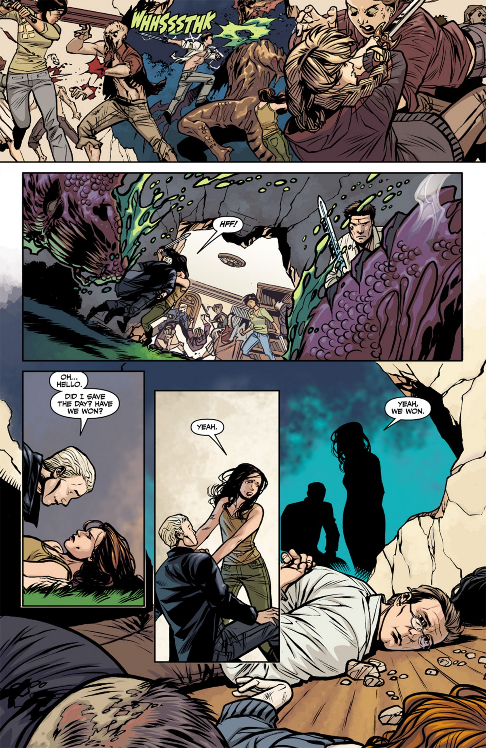 Read online Angel and Faith comic -  Issue #19 - 19