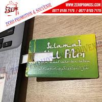 Flashdisk Kartu untuk Souvenir Idul Fitri, Flashdisk Kartu Souvenir Ucapan Lebaran, Souvenir idul fitri