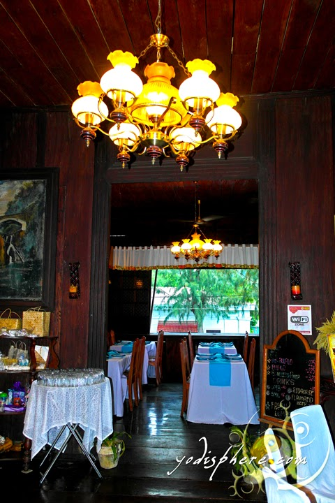 hover_share Old interior and architecture of the Casa de Don Emilio restaurant