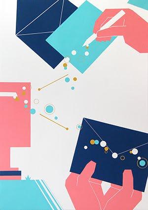 多摩美術大学生産情報デザイン学科情報デザインコース 合格者再現作品