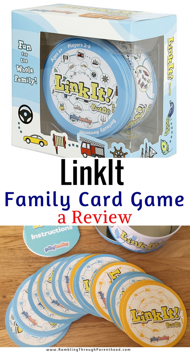 LinkIt is a picture-based card game for all the family. LinkIt has been designed to help children sharpen visual perception and language skills. The aim is to spot the link between cards as quickly as you can! It will make for a great stocking-filler this Christmas.