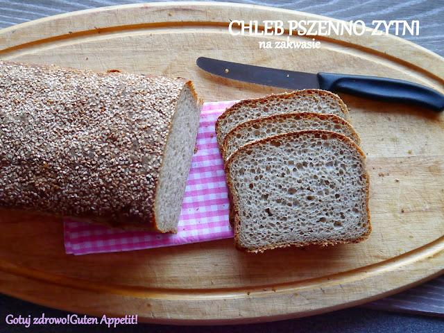 Chleb pszenno - żytni na zakwasie - Tatterowiec - Czytaj więcej »