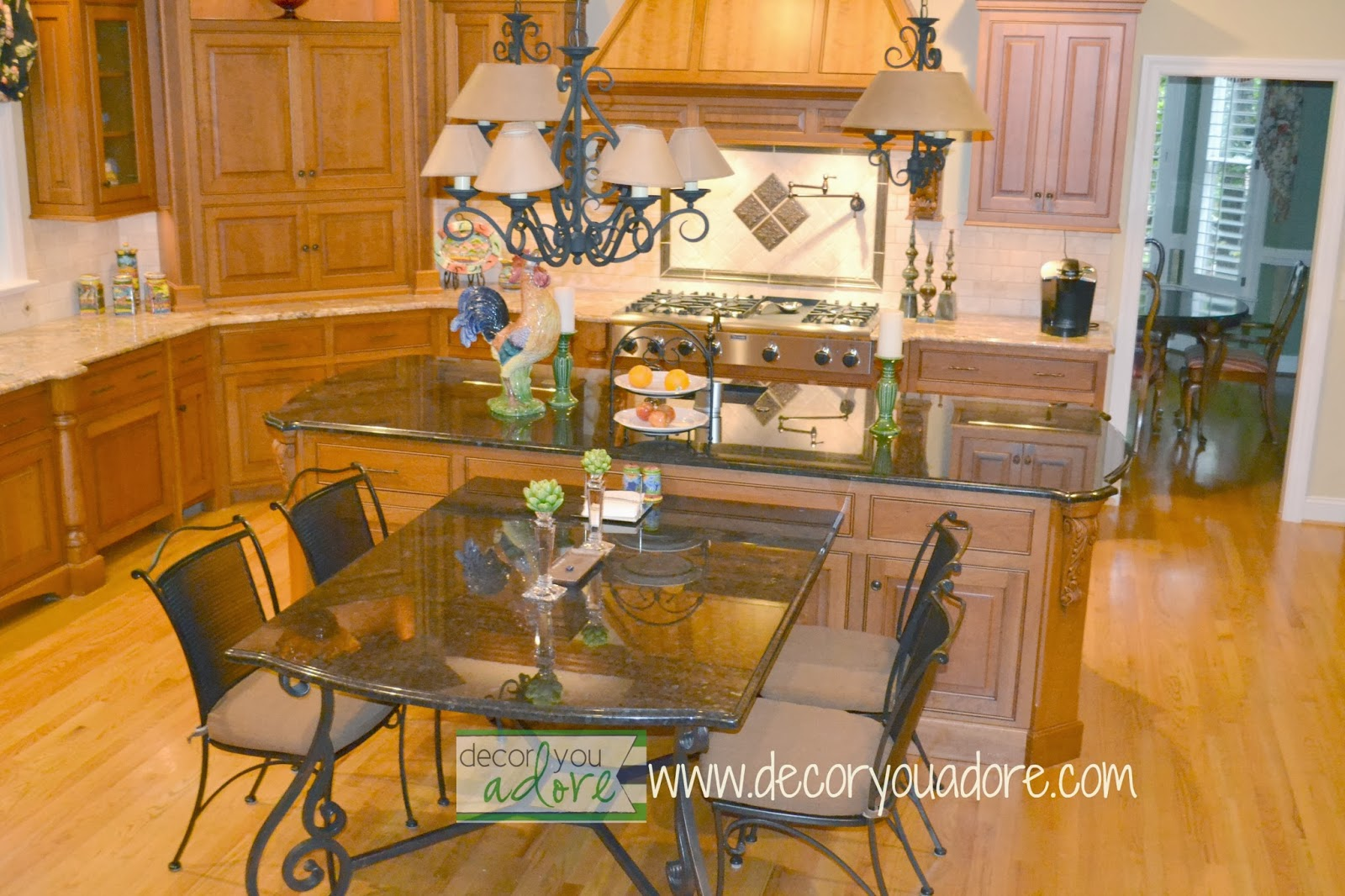 Decor You Adore: Dream Kitchen Remodel With All The Bells