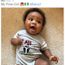 WALE'S DAUGHTER WITH THE NIGERIAN COAT OF ARMS