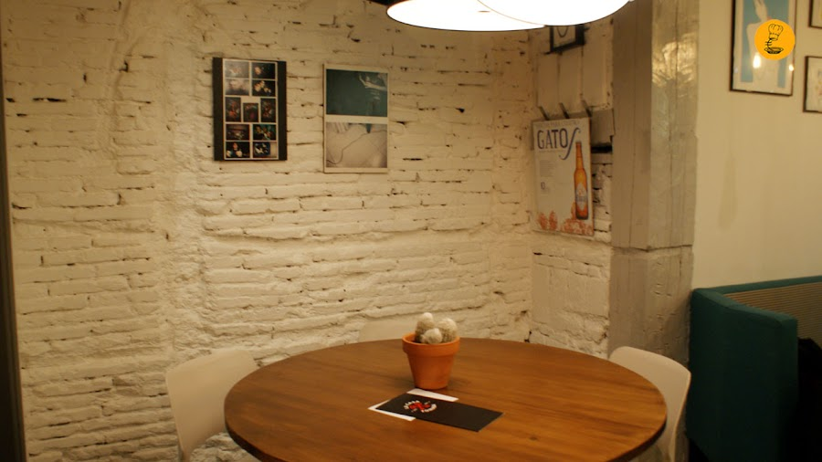 Salón de La Casa Tomada Madrid