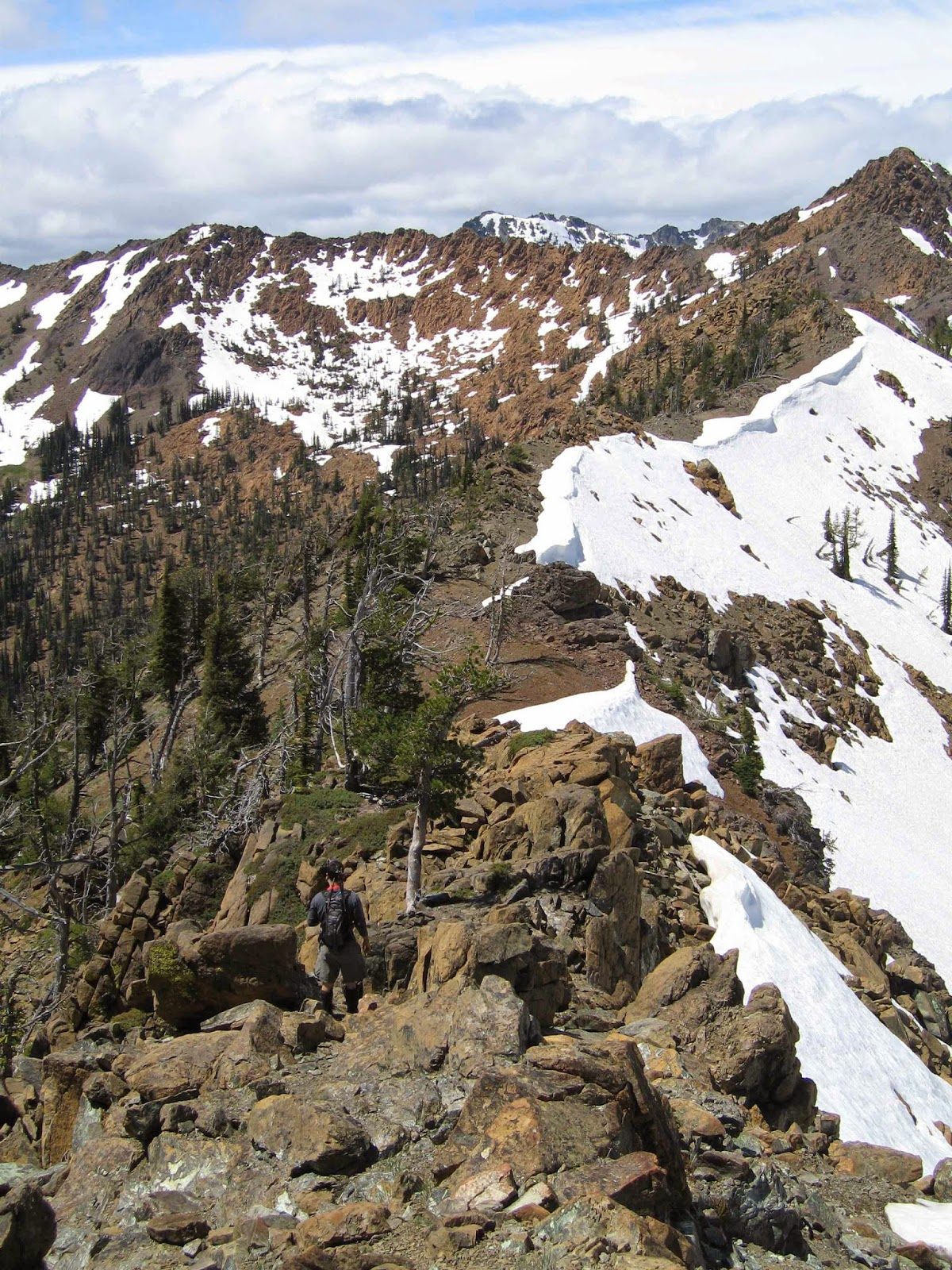 Ridgeline towards Bean Peak