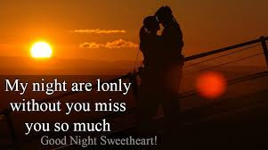good night message for my love