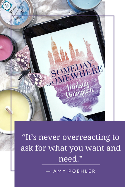 Someday, Somewhere by Lindsay Champion featured on What Are You Reading Wednesday on Reading List