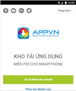 Tải Appvn APK MIỄN PHÍ về máy Android, iOS 1