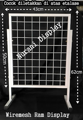 Rak Standing Wiremesh Ram Display