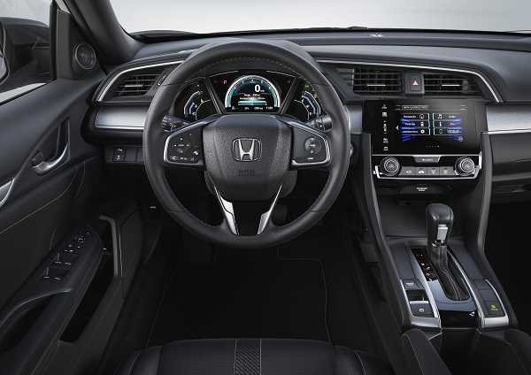 Interior Honda Civic EXL 2017