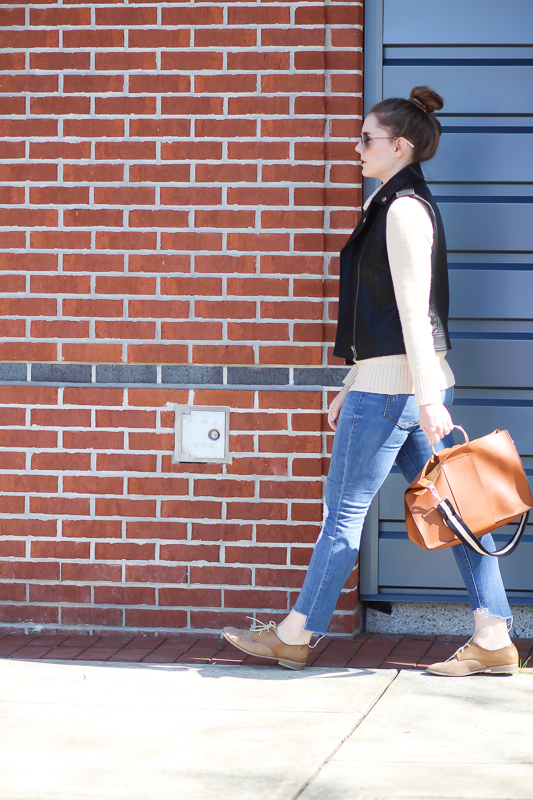 Blogger Style- Leather Vests