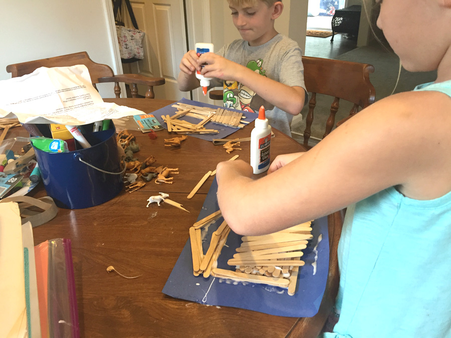 homeschooling, arts and crafts, noah's ark, bible crafts, learning
