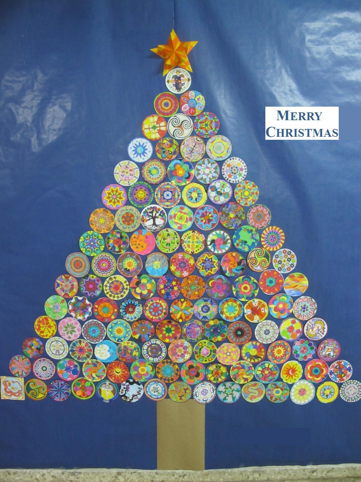 Funny English from A Coruña: A Mandala Christmas Tree