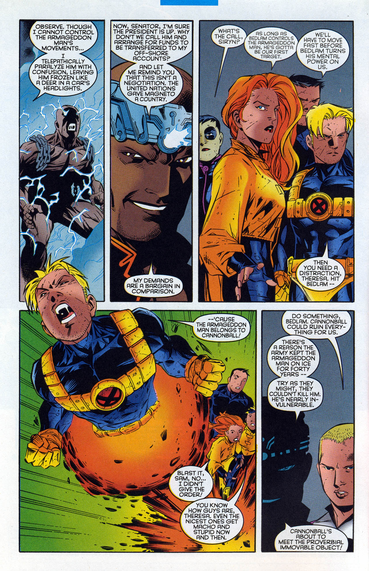Read online X-Force (1991) comic -  Issue #90 - 6