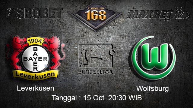 PREDIKSIBOLA - PREDIKSI TARUHAN BOLA LEVERKUSEN VS WOLFSBURG OCTOBER 2017 (BUNDESLIGA)