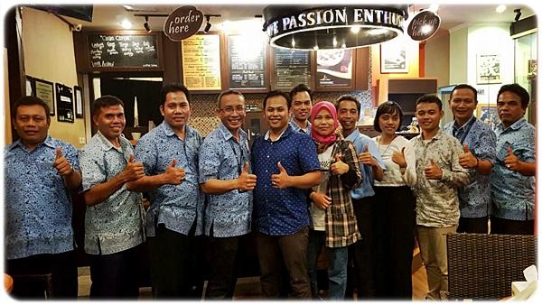 Ngopi Asyik Bareng Lombok Taksi di Coffee Toffee