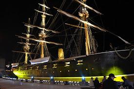 Museo Naval Corbeta Esmeralda, Iquique, Chile.