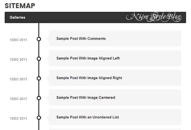 Sitemap Based Ajax - Thêm một mẫu sitemap mới cho Blogger