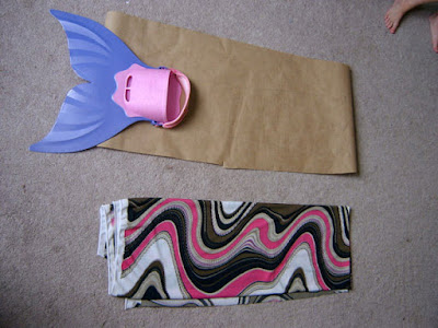 girls mermaid tail pieces to sew