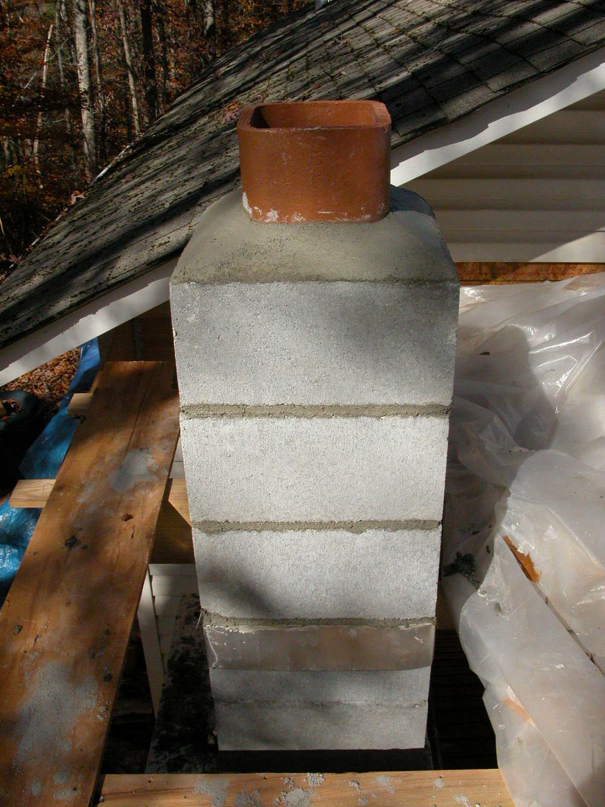 Kiln Project Building The Chimney