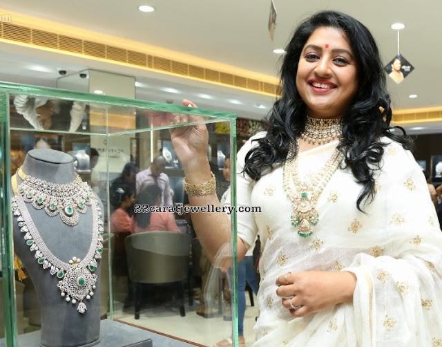 Sana Showcasing Heavy Bridal Diamond Sets