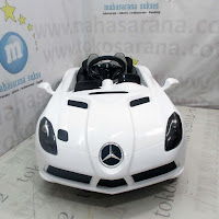 Mobil Mainan Aki Junior DMD158 Mercedes Benz SLR Stirling Moss Lisensi
